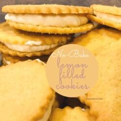 No-Bake Lemon-Filled Cookies