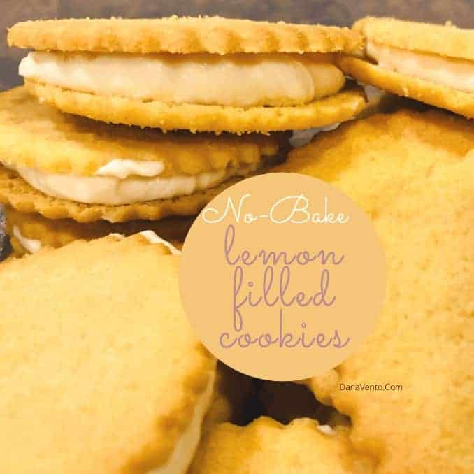Delicious No-Bake Lemon-Filled Cookies in 14 Minutes