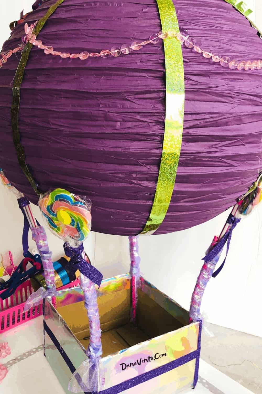 ribbon seams and paper lantern