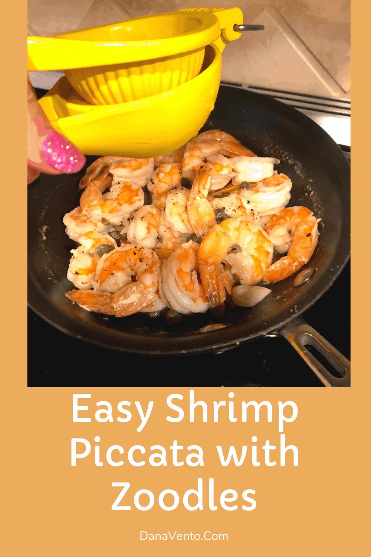 lemon on shrimp