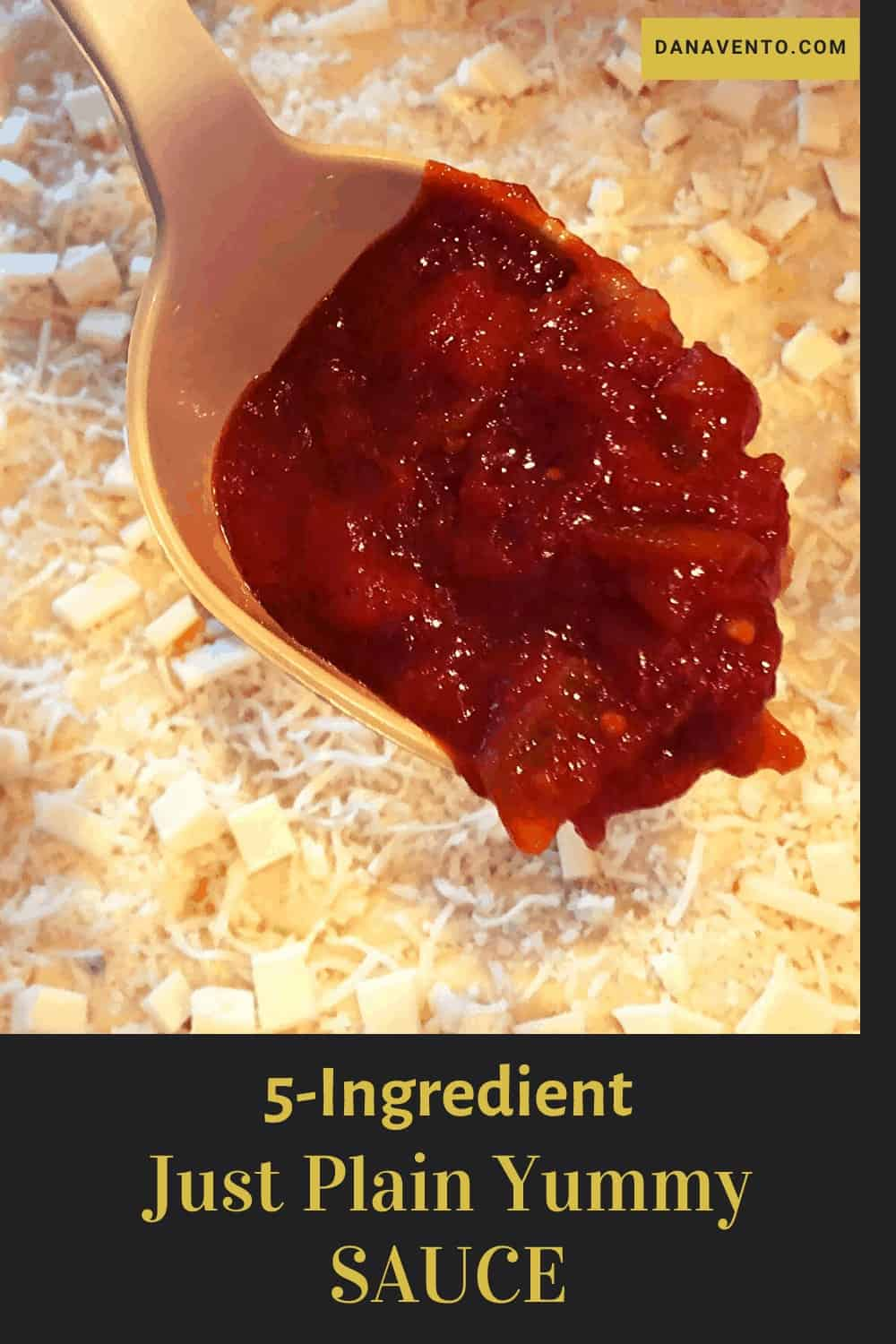 Just Plain Yummy 5-Ingredient Tomato Sauce for Sicilian Pizza