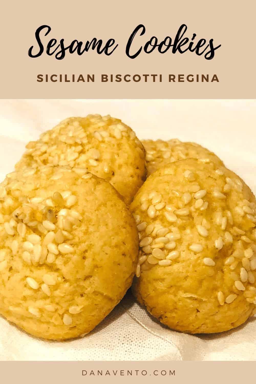 Italian cookies up close