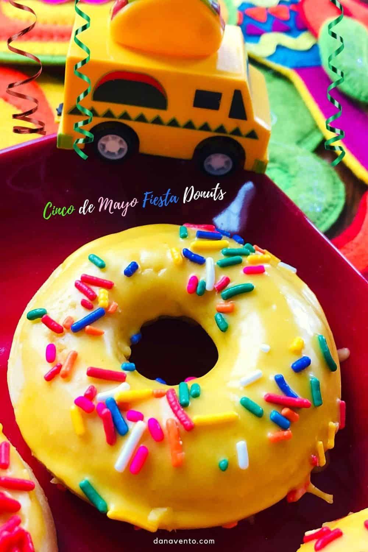 Cinco de Mayo Fiesta Donuts with taco truck