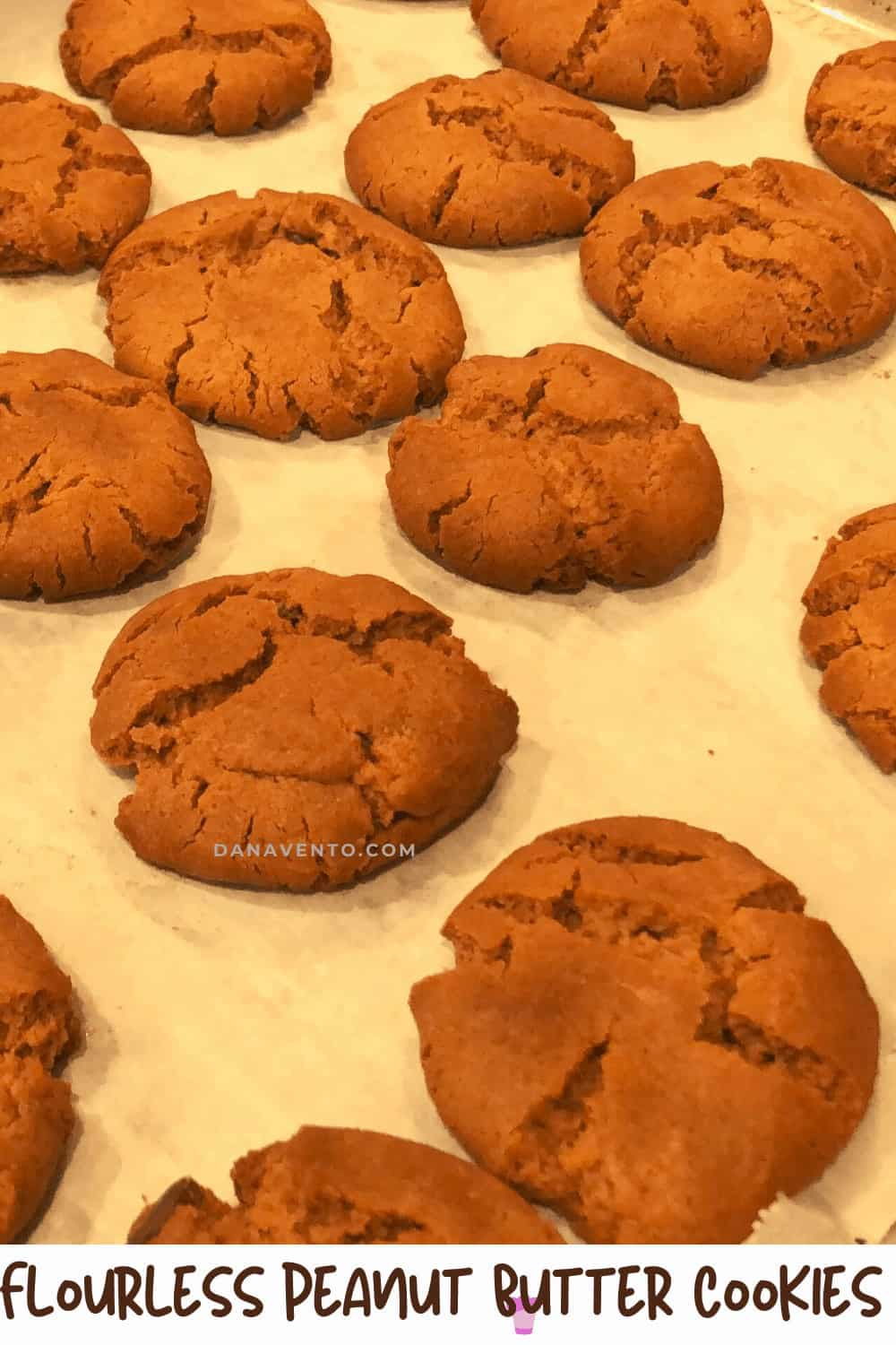 Flourless Peanut Butter Cookies with Only 6 Ingredients 3