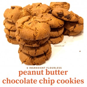 Flourless Peanut Butter Cookies with Only 6 Ingredients