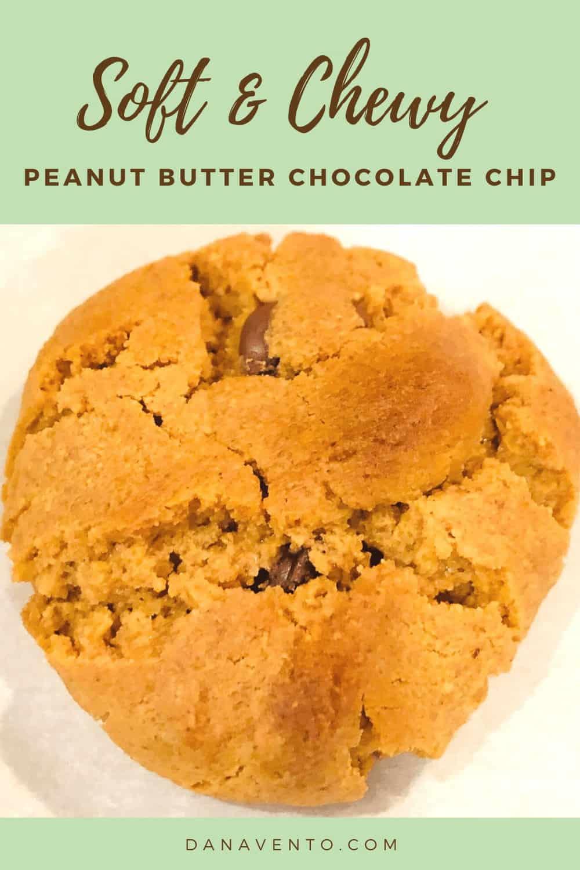 peanut butter cookie up close