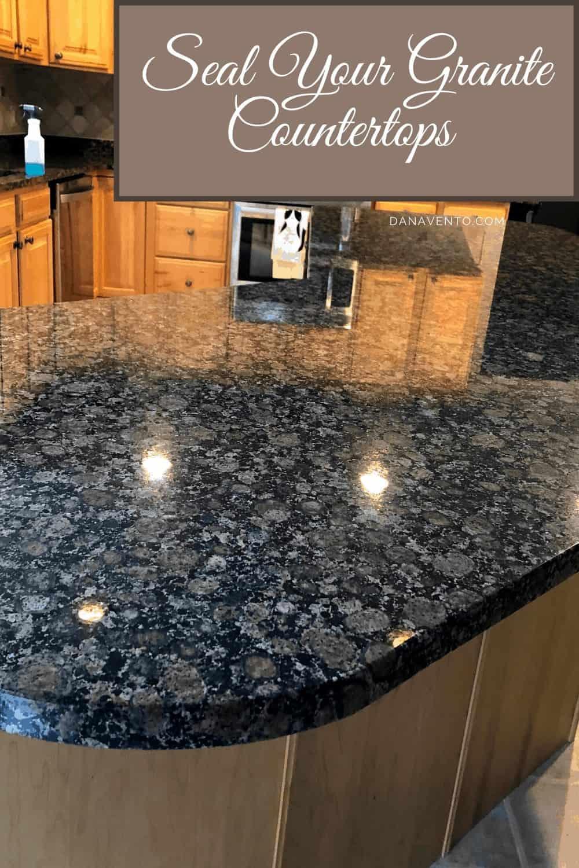 How To Easily Seal Granite Countertops