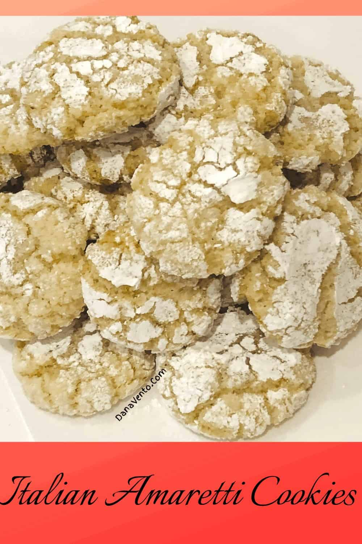 Chewy Authentic Italian Amaretti Cookies