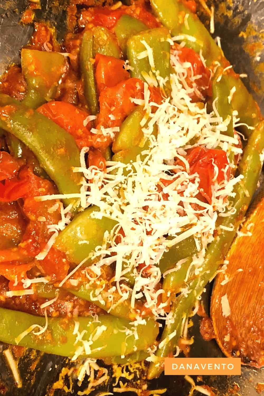 Italian Green Beans In Sauce