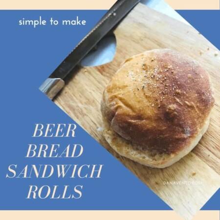 Ultimate Beer Bread Sandwich Rolls