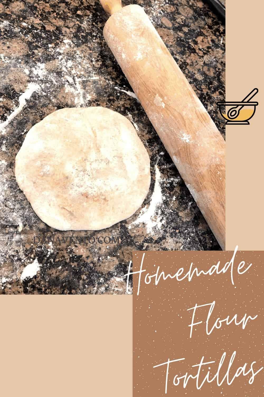 Homemade Flour tortillas for a Cinco de Mayo Party