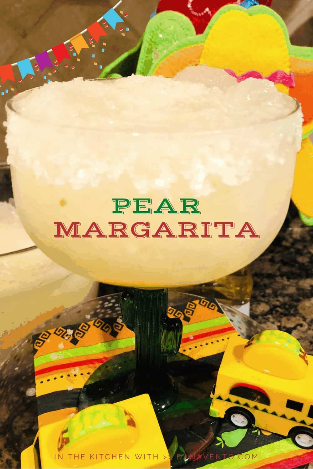Perfectly Imperfect Pear Margaritas For Every Party