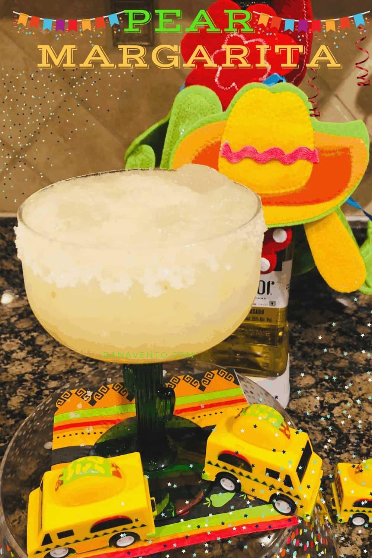 Super Close margarita in a glass with salted rim