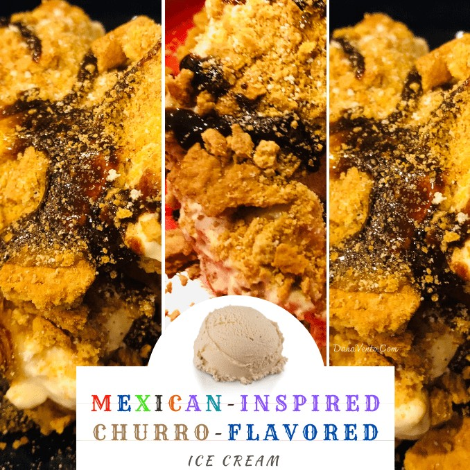 Copy of mexican inspired churro flavored ice cream pinterest 7 main size