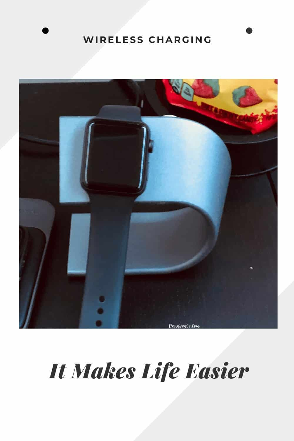 Watch by Apple being charged without a wire