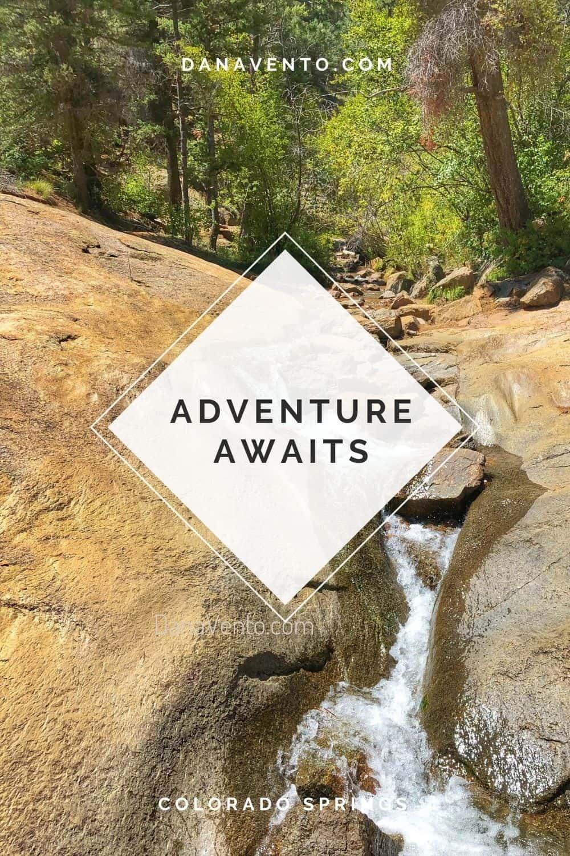 colorado springs to durango at Helen Hunt Falls