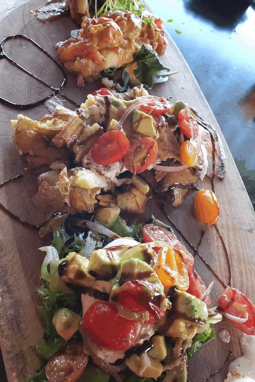 Red Sky Cafe Platter of Food