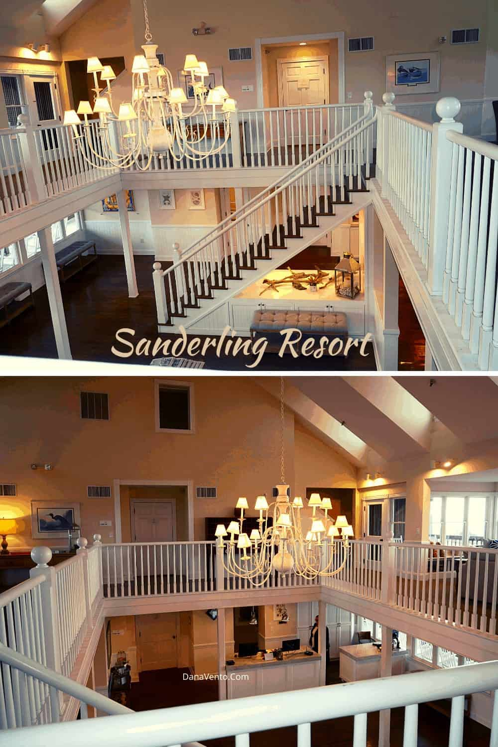Interior of Beach House and Reception at Sanderling Resort