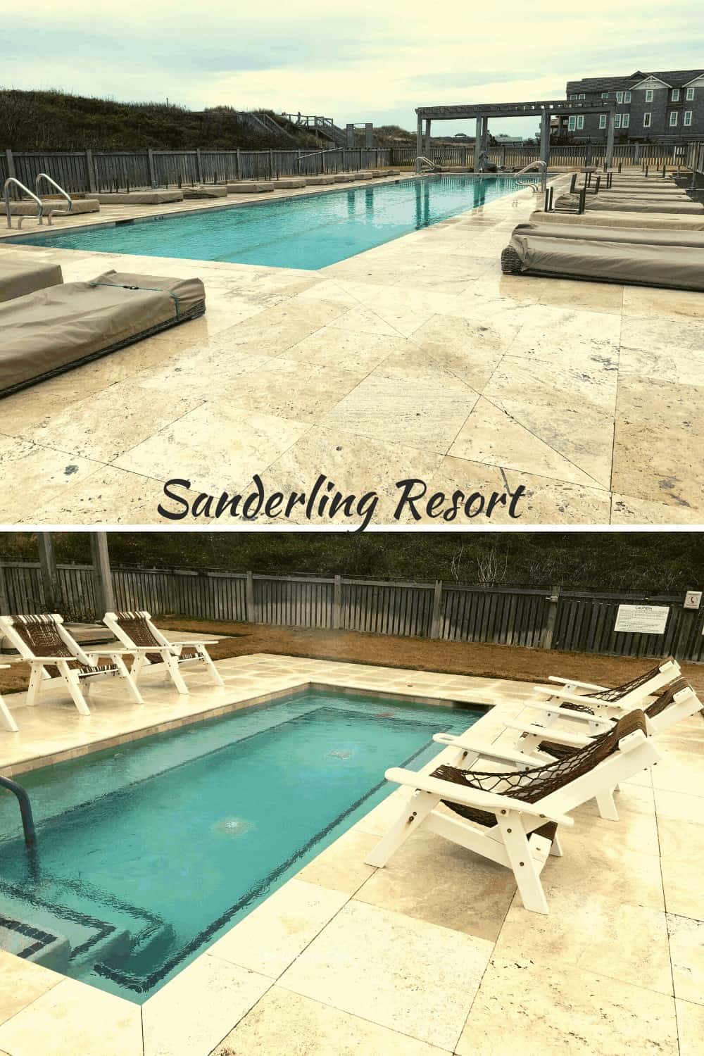 Pools at Sanderling Resort