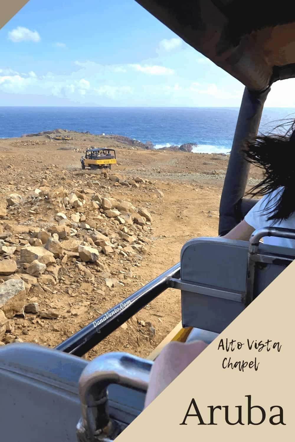 Rugged terrain in Aruba Safari