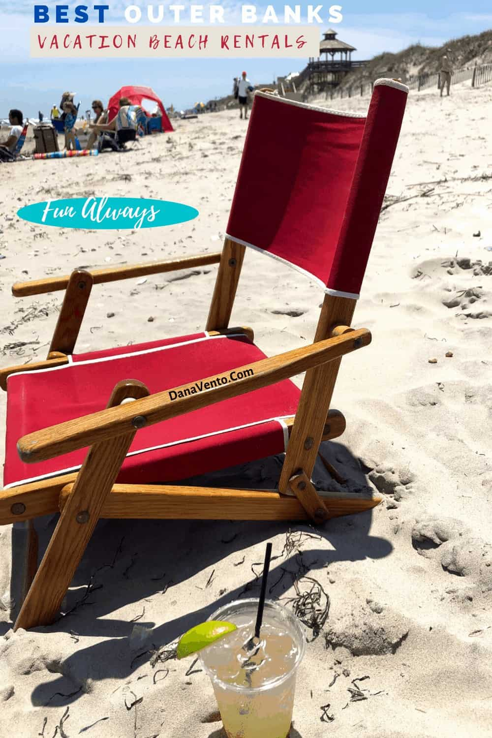 Beach Chair from Brindley Vacation Rentals
