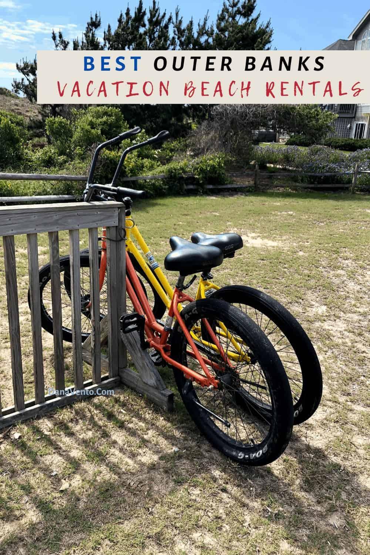 bikes to beach in Corolla Light Community