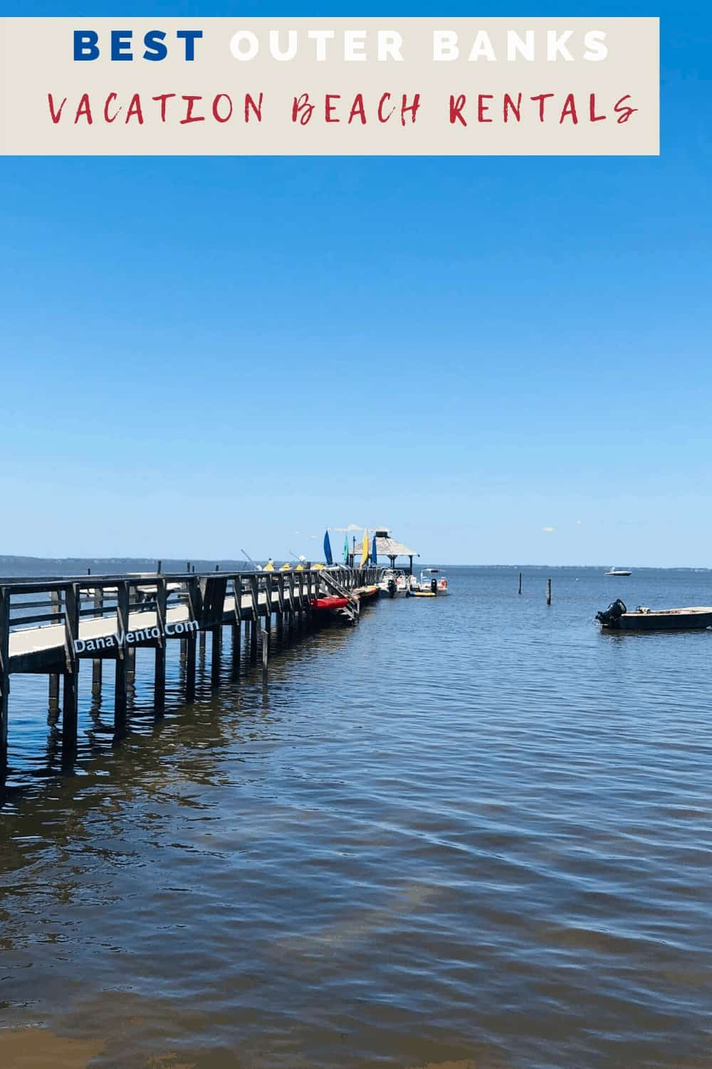 Pier along nature trail Currituck Sound SIde