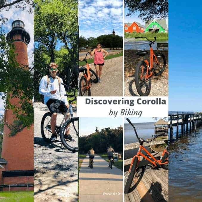 Discovering Corolla NC by Bike.