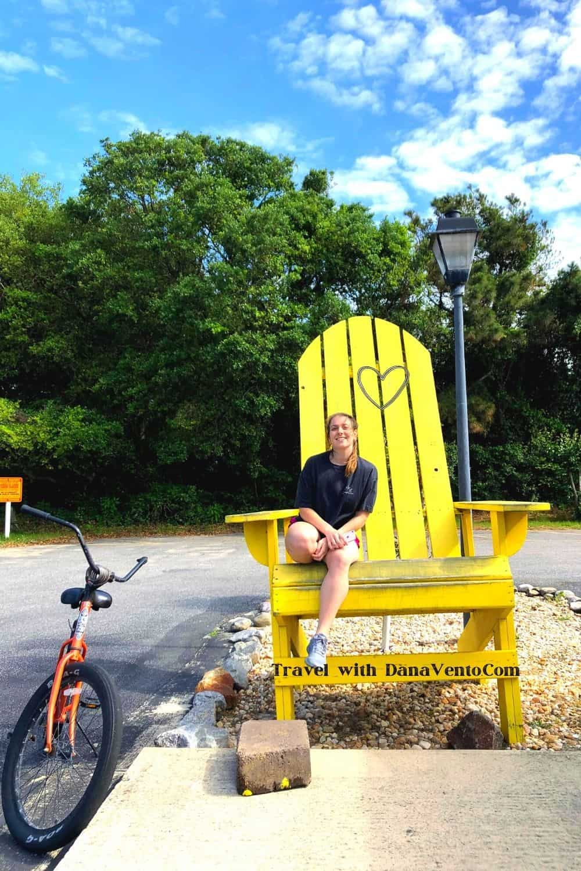 Discovering Corolla NC by Bike Big Chair