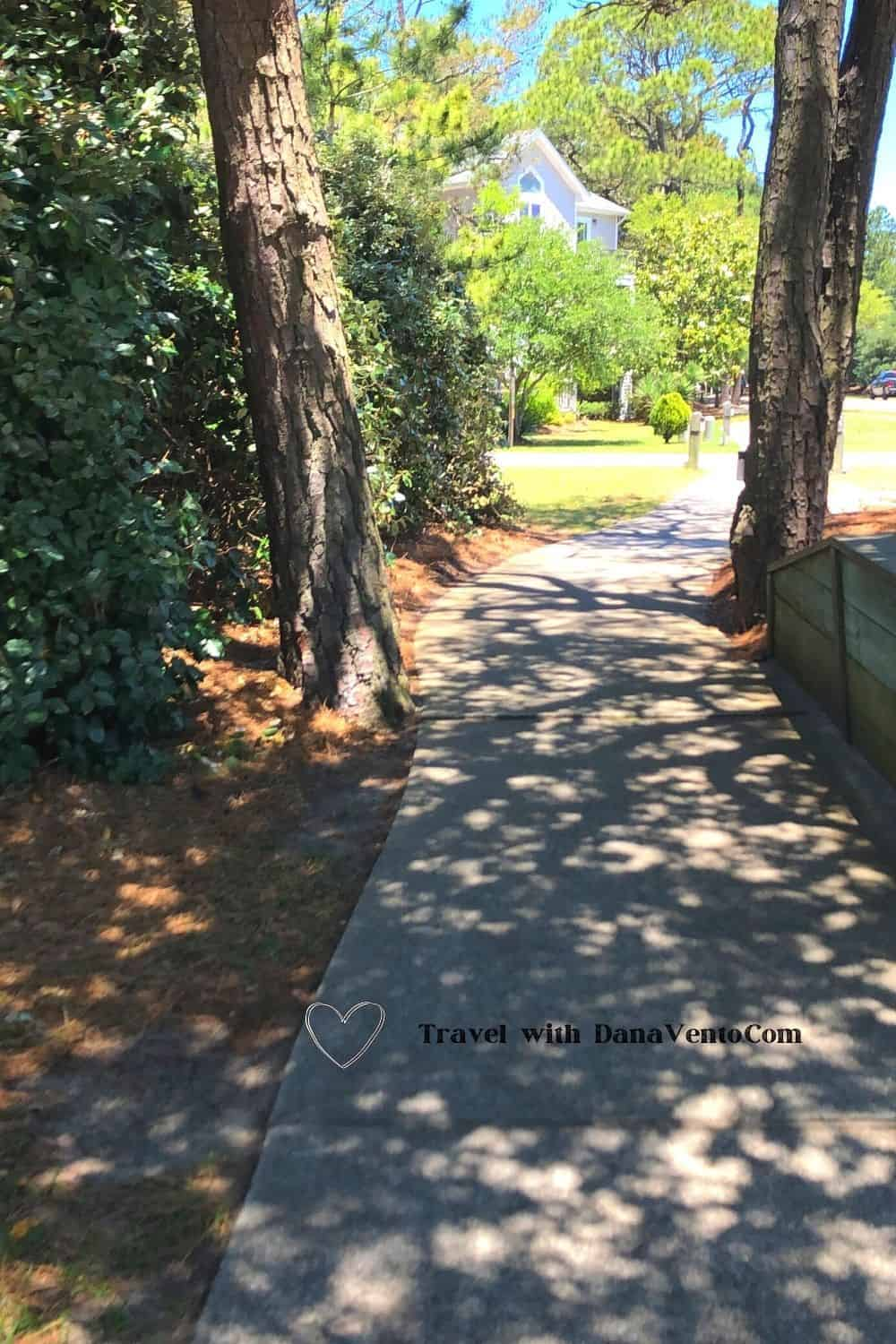 Discovering Corolla NC by Bike paths