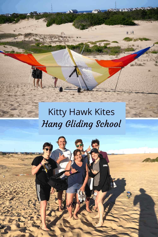 Kitty Hawk Kites Hang Gliding School our class