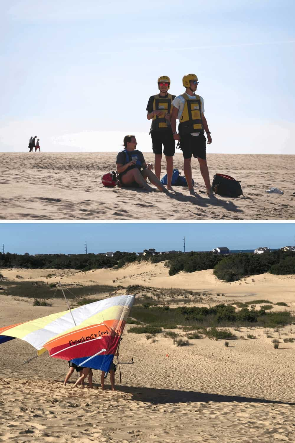 Clothing for OBX Hang Gliding Experience