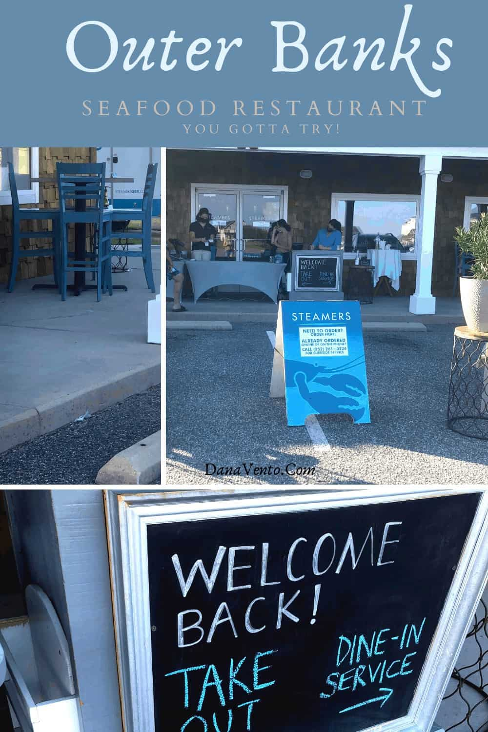 curbside take-out at Southern Shores Seafood Restaurant Steamers