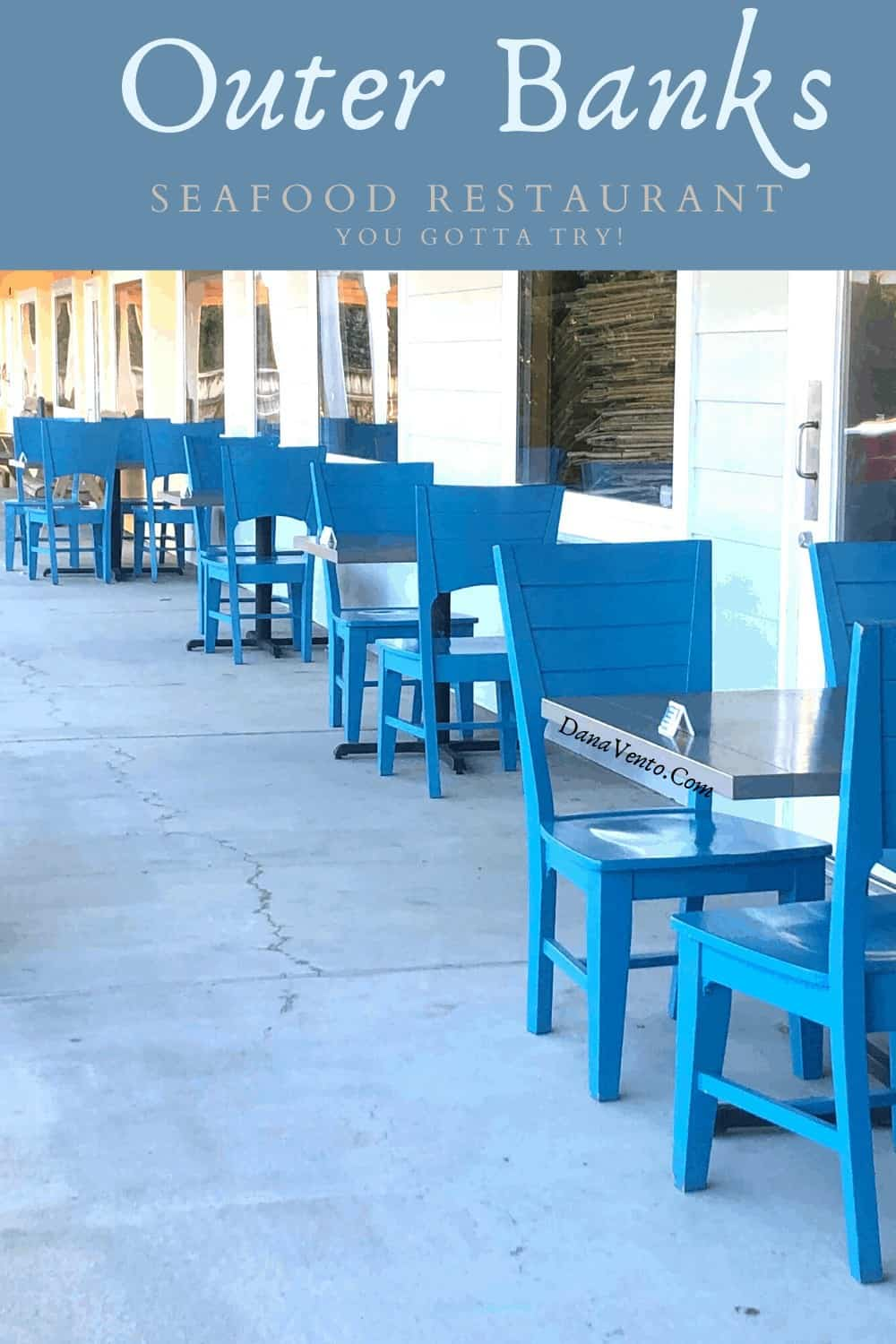 Steamers Restaurant in Outer Banks from Exterior seating