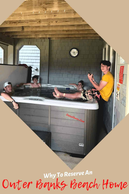 Hot Tub Time in Brindley Beach Rental