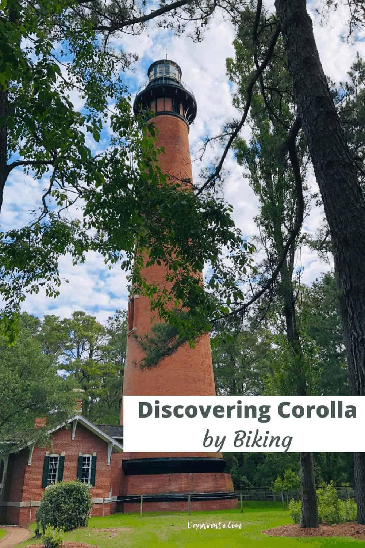 Currituck Lighthouse heading to Corolla Historic Village