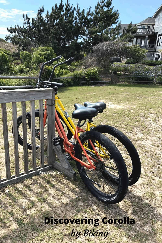 Bikes parked on Corolla Light Park