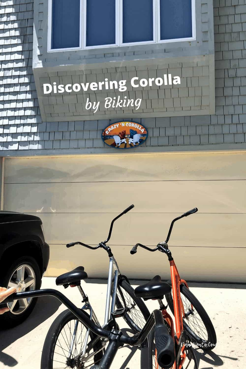Bikes Parked at Crazy N Corolla in Corolla Community