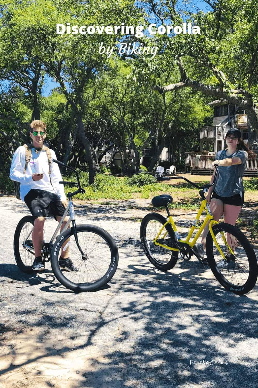 Kids on Bikes in Corolla, NC