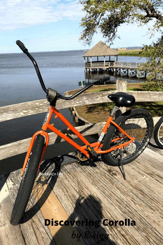 Bike on Footbridge in Historic Corolla Park