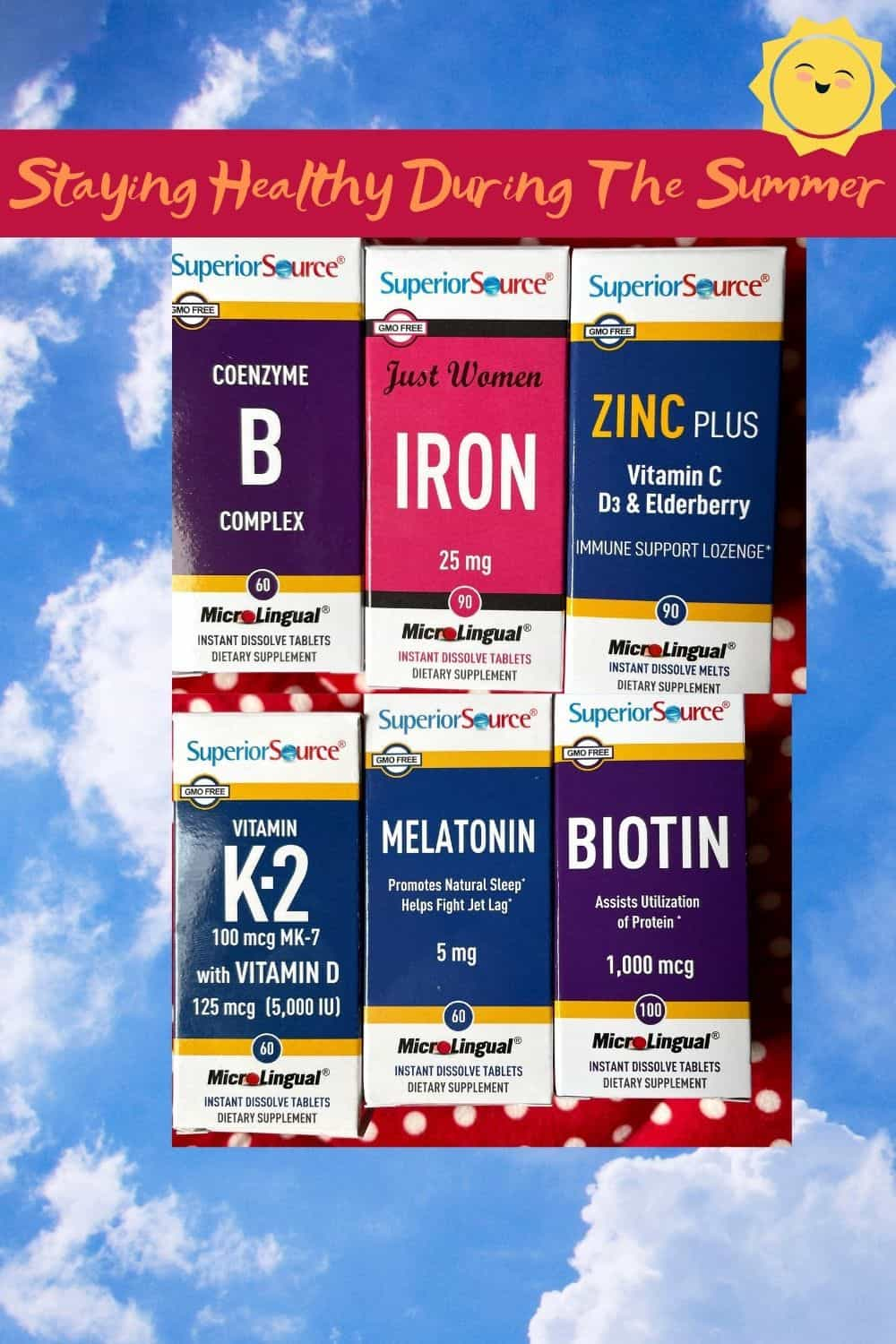 All Supplements for Superior Source staying healthy during the summer