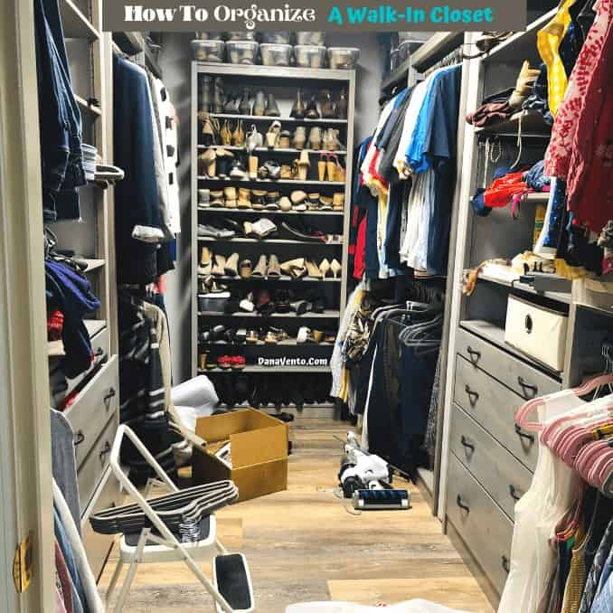 How to Orgainze a Walk-In Closet - Solid Wood Closet System. Non-Toxic