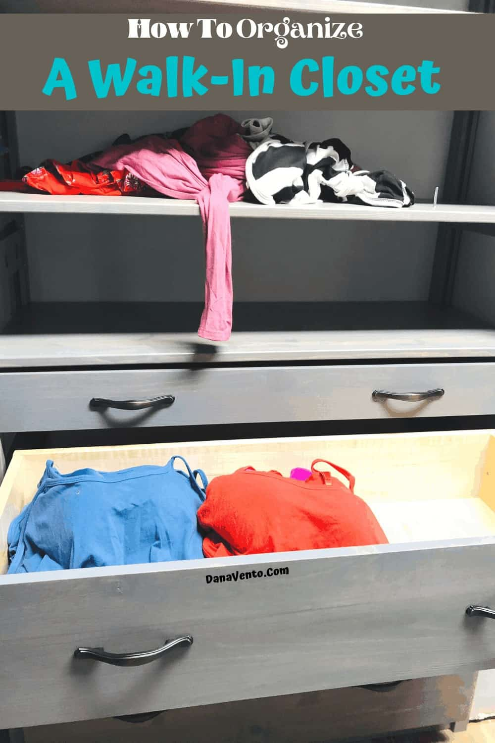 LUNDIA USA Drawers in Closet in gray wash: Solid Wood Closet System Must-Have