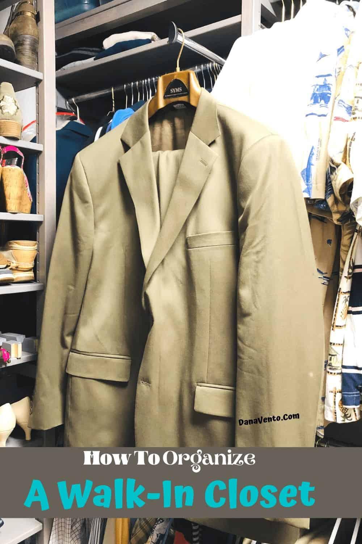 Coat Valet installed inside undia USA Solid Wood Closet system