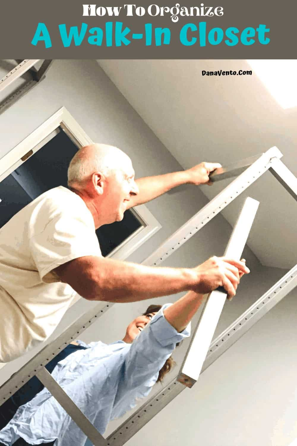 Michael and Dana Installing LUNDIA USA Solid wood closet System a practical DIY
