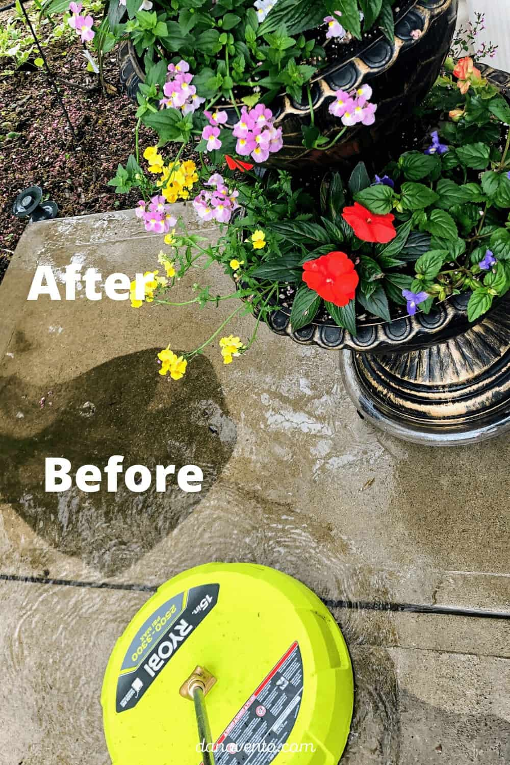 surface cleaner on power washer