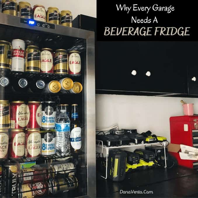 Why Every Garage Needs A Beverage Fridge
