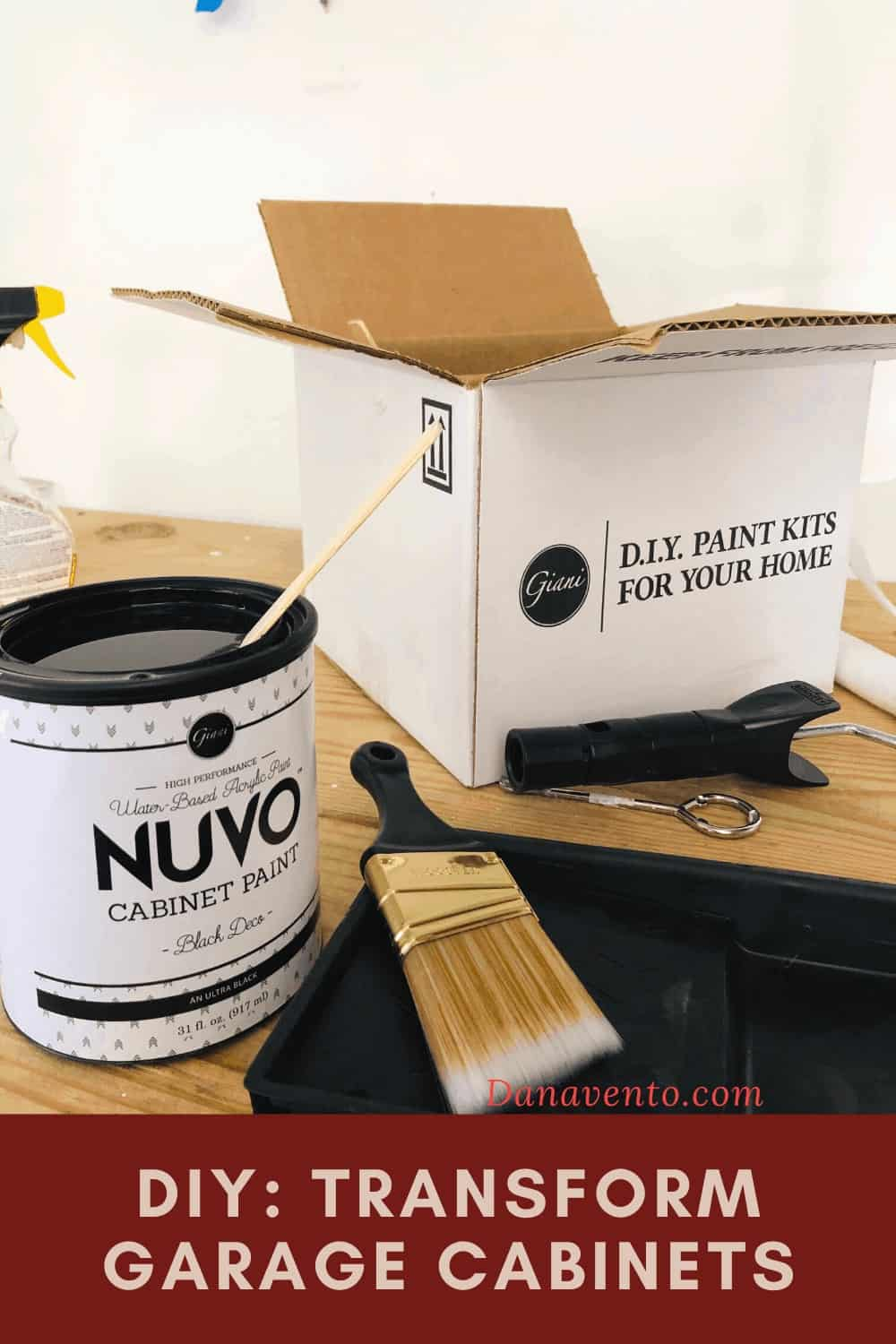 Giani Granite NUVO DIY Cabinet Paint Kit - to Paint Cabinets