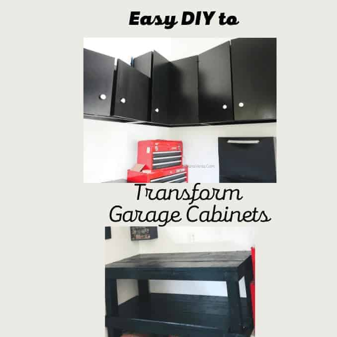Transform Garage Cabinets Unbelievably Fast.