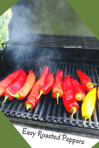 roasting pepper and grilling like a boss